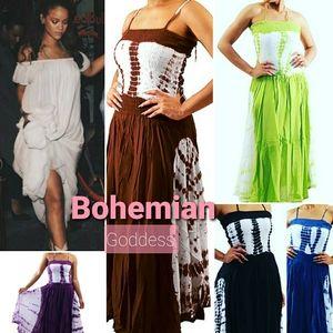 Bohemian Goddess Summer Dress